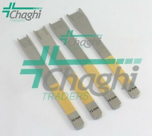 Cinelli Guarded Osteotome 16 cm Straight 4 PCs Set By Chaghi Traders