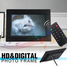 7inch HD Digital Photo Frame Album Picture MP4 Movie Player Remote Control W
