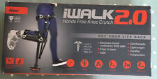 iwalk 2.0 Walking Aid Hands Free Knee Crutch BNIB