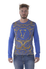 T shirt Versace Jeans Sweatshirt Coton Homme Bleu B3GOA796 243 TL. M