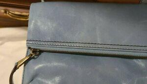 Hobo Light Blue Crossbody Wallet NWOT
