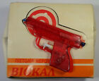BIOKAL GREEK VTG 70's SQUIRTER 6'' RED PLASTIC WATER GUN PISTOL UNUSED