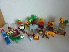 LEGO DUPLO VILLE ZOO Starterset-Set 5634-molti animali + Zoo macchina + PERSONAGGIO-Top