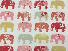 Studio G elefantes Spice remanente de tela 100% algodón, 50cm X 40cm