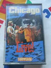 CHICAGO LIVE SHOWCASE RECORDS 1995 AUDIO CASSETTE LIVE ALBUM