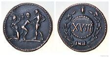 Roman spintria BORDELLO entrata token XVIII BRONZO