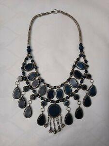 Afghan lapis lazuli jewelry necklace-MAGNIFICENT MAHIDEVRAN
