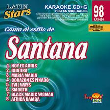 Karaoke Latin Stars 98 Santana Vol.1