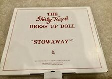 Dm-01 - Shirley Temple / Dress Up Doll / Stowaway / Danbury / Mint Condition