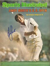GOLF LEGEND ANDY NORTH SIGNED 1978 SPORT MAGAZINE 2X U.S. OPEN CHAMPION GATORS