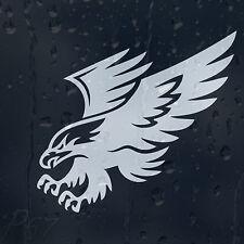 GOLDEN Flying Eagle automobile o Laptop Decalcomania Adesivo Vinile per Paraurti Pannello Finestra