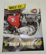 1967 Bsa Motorcycle Flyer
