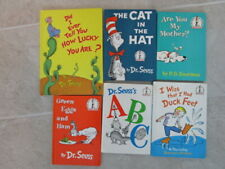 Dr. Seuss Lot of 6 Beginner HC Books  - Pre School Easy Reader Cat in Hat
