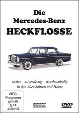 "DVD ""Die Mercedes-Benz Heckflosse"" - Film - Video - Oldtimer - W110 W111 W112"