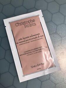 Christophe Robin Cleansing Volumizing Paste .41oz/12ml Sample Size Packet SEALED