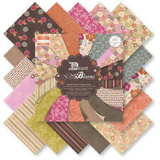 """First Edition Desert Blooms Sample Paper Pack (16 sheets x 6x6"""" size)"""