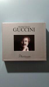 CD MUSICA FRANCESCO GUCCINI THE PLATINUM COLLECTION 3CD VG/VG