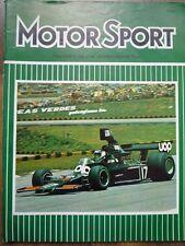 MOTOR SPORT MAR 1975 Brazilian GP Lotus Elite 503 Monte Carlo Rally BMW HQ visit