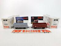 CM349-0,5# 2x Piko H0/DC Güterwagen SBB CFF NEM KKK: 95072A + 95412, NEUW+OVP