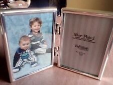 Silver Plated Brass Photo Frame.