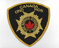 CANADA DND MDN Department of National Defense FIRE DEPARTMENT Service golg wire
