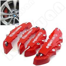 3D Red 4PCS Style Car Universal Disc Brake Caliper Covers Front & Rear NEW