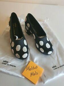 Brand New Comme Des Garcons Melissa Shoes Pumps Polkadots Size uk 4 / eu 37