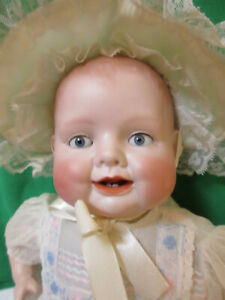 1926 Antique Bisque Baby Doll Bonnie Babe by Georgene Averill Germany 1365