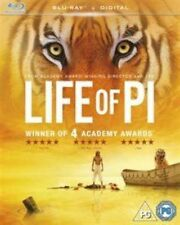 Life of Pi 2012 Blu-ray (uk) UV Copy Ang Lee Movie Drama Adventure Fantasy