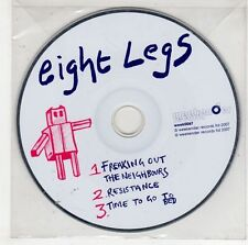 (GS136) Eight Legs, Freaking Out The Neighbours - 2007 DJ CD
