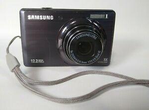 "Samsung PL Series PL210 Digital Camera 14.2MP 3.0"" 10x OZ Blue Good Condition"