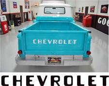 1955-87 STEPSIDE CHEVY CHEVROLET PICKUP TRUCK TAILGATE LETTERS DECALS STICKERS