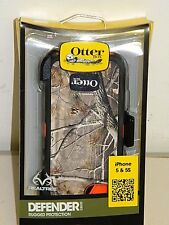 OEM Otterbox Rugged Defender Case For Apple iPhone 5S 5 Camo Realtree Max Blaze