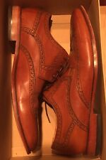 Cole Haan Air Colton Wing Tip Brown Dress Shoes Size 11