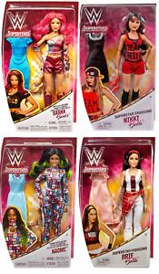 WWE Superstar Fashion Girl Figures - 12 Inch - Mattel - Brand New - Sealed