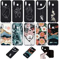 For Samsung A50 A70 A80 Huawei Y5 2019 Fashion Soft Silicone TPU Skin Case Cover