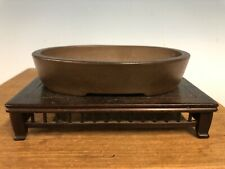 Rare Old Early Yamaaki Shohin Size Bonsai Tree Pot Nearly 100 Yrs 5 3/8�