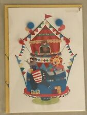 Papyrus - Happy Birthday Circus Kids Children Greeting Card - New in Packaging