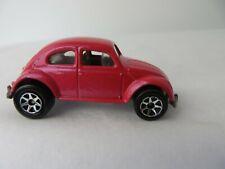 Mattel Hot Wheels Volkswagen Beetle Pink Pearl 1988 Malaysia  #0801