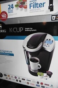 Keurig K65 Signature Edition Single Cup Brewing System Programmable Black/Silver