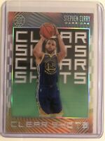 2019/20 Panini Illusions CLEAR SHOTS STEPHEN CURRY #9 INSERT