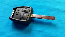 VAUXHALL OMEGA 3 BUTTON REMOTE KEY FOB  & BLADE READY TO BE PROGRAMMED T-AM