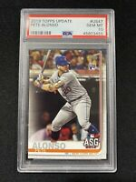 2019 Topps Update #US47 Pete Alonso ROOKIE RC PSA 10 GEM MT New York Mets