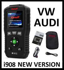 VOLKSWAGEN VW AUDI DIAGNOSTIC SCANNER TOOL AIRBAG CODE READER iCarsoft VAWS V1.0