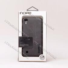 Incipio LG X Power DualPro Dual Layer Hard Shell Snap Cover Case Black