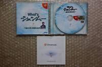 "What's Shenmue ""Good Condition"" Sega Dreamcast Japan"
