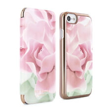 OFFICIAL TED BAKER Womens Floral Folio Case Cover for iPhone 6 / 6S KNOWAI Nude