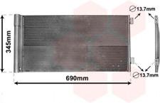 Kondensator, Klimaanlage für Klimaanlage VAN WEZEL 06005414
