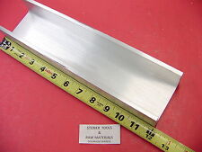 "3""x 1.75"" ALUMINUM CHANNEL 6061 X .26"" Flang 12"" long T6 .13"" Web Mill Stock"