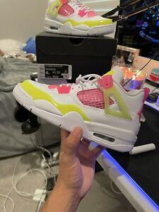Air Jordan 4 GS White Lemon Pink CV7808-100